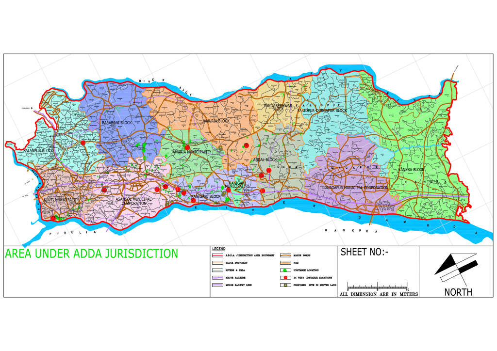 adda jurisdiction area