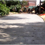 Construction of Cement Concrete road and drainage system at Akandara village within Kanksa Block