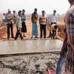 Construction of Cement Concrete road from main road to Primary School at Anandapur Village within Kanksa Block