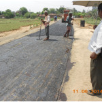 Construction of road from bamunara hattala more to tetul tala adibasi para under kanksa block