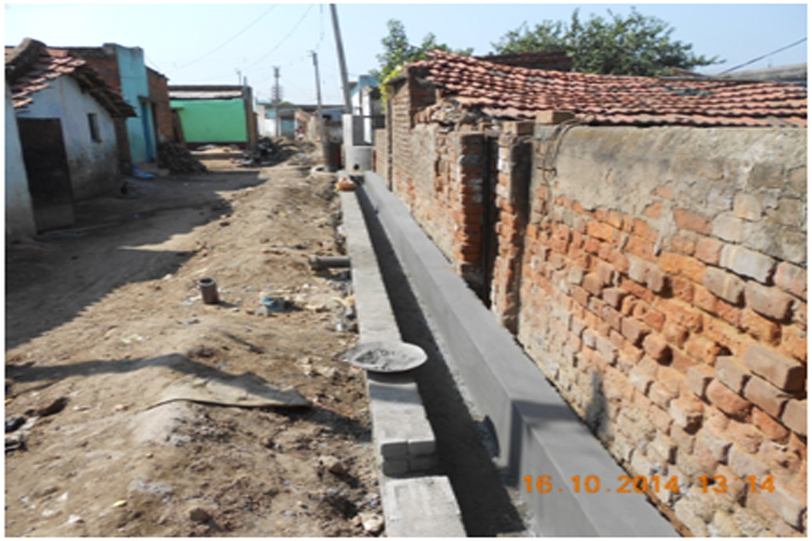 Construction of Cement Concrete road and allied drainage works from Vegetable Market to Gopal Shaw's house and Ukhra Gurudwara more to United Club at Ukhra G.P. under Andal Block
