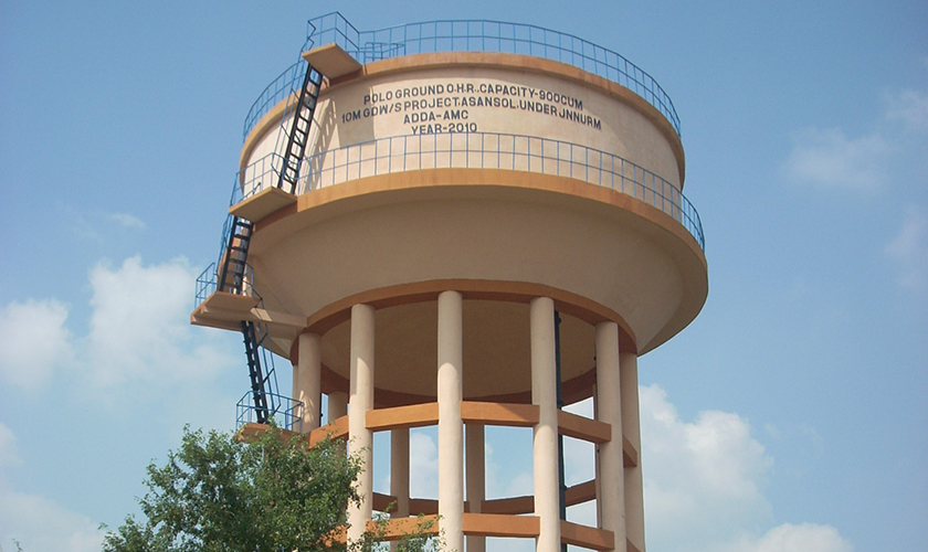 construction of overhead water tank pdf