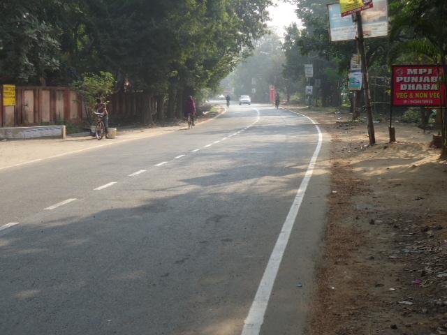 Road of SSB Sarani, Bidhannagar, Durgapur