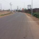 Jamuria Industrial Road at Asansol