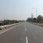 Road from Gammon Bridge to Gandhi More at Durgapur