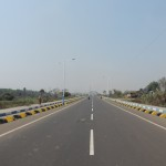 Road from Gammon Bridge to Gandhi More at Durgapur