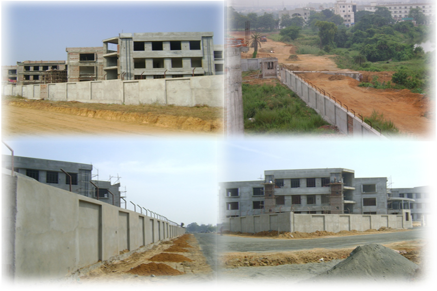 Construction of Boundary wall for State Institute of Hotel Management (SIHM) at Fuljhore, Durgapur